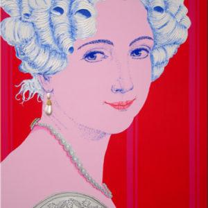 Prinzessin Sophie Friederike von Bayern   100X150 cm.