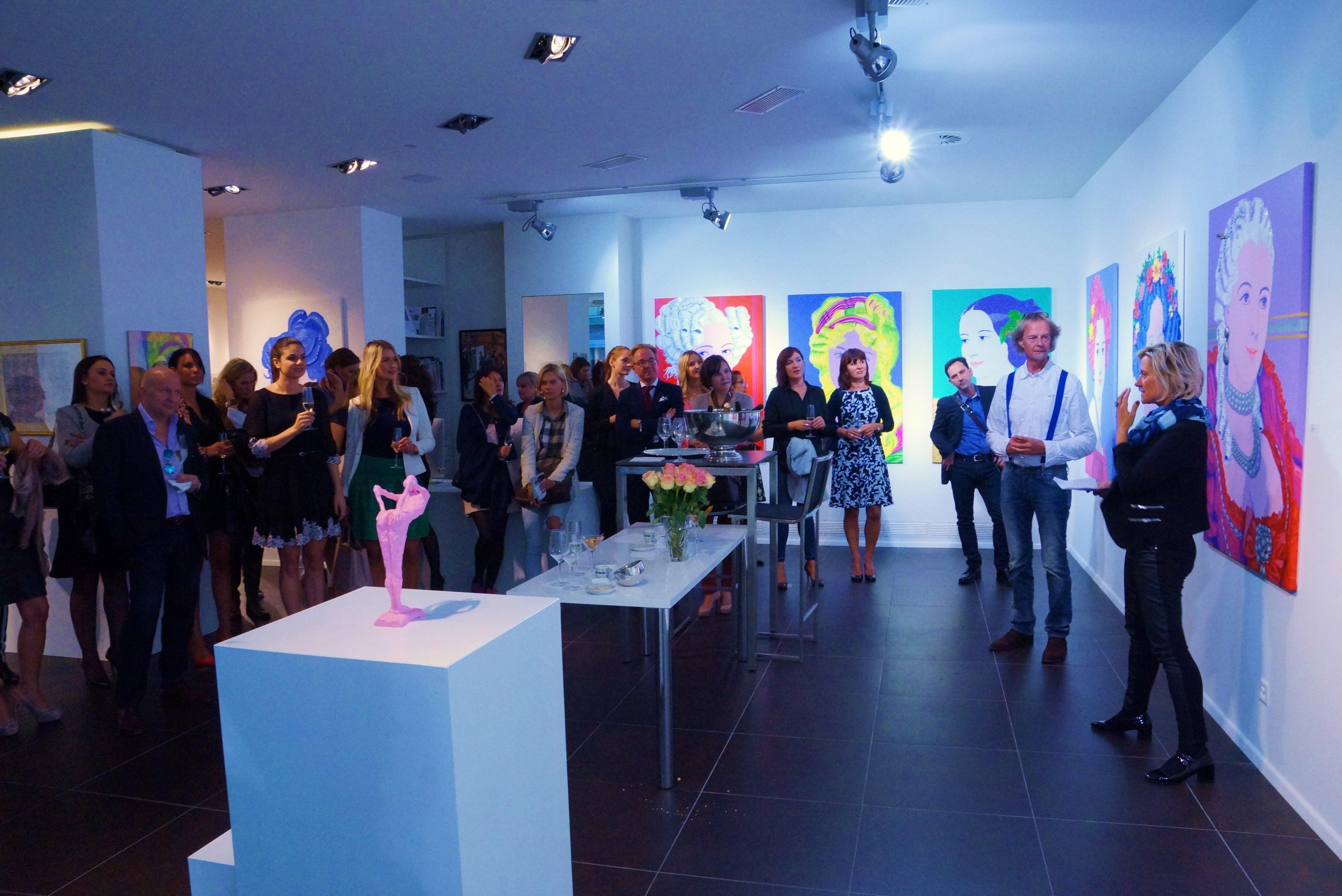 Vernissage Galerie INA DEDERER / ZURICH September 10th, 2015