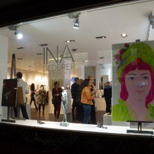 Vernissage Galerie INA DEDERER / ZURICH