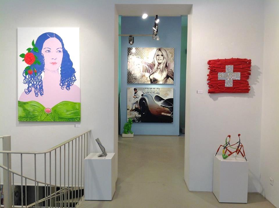 Jim ter Kuile / Galerie Richter, Kurfürstendamm, Berlin
