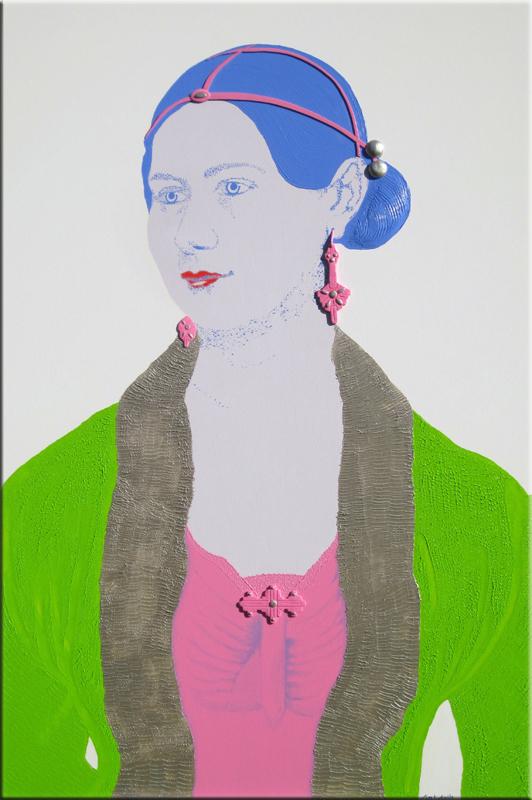 Marie Prinzessin von Sachsen-Weimar-Eisenach 100X150 cm.